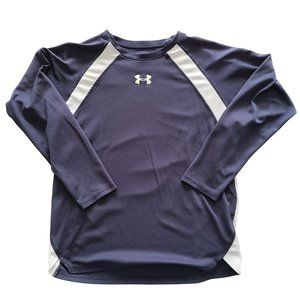 🍒3/$20🍒 UNDER ARMOUR Navy & White Athletic Shirt